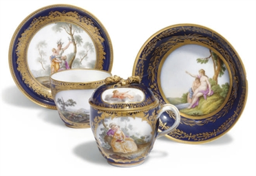 TWO MEISSEN (MARCOLINI) DARK-B