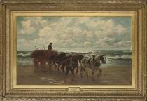 The sea weed gatherers