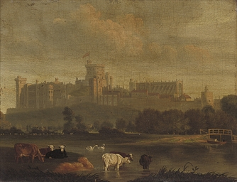 A view of Windsor Castle from