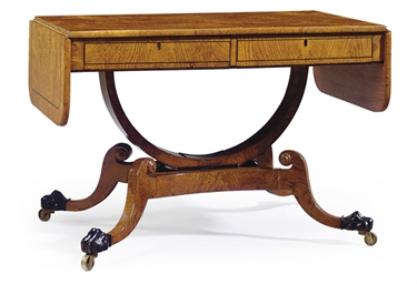 A REGENCY BROWN-OAK, POLLARD E