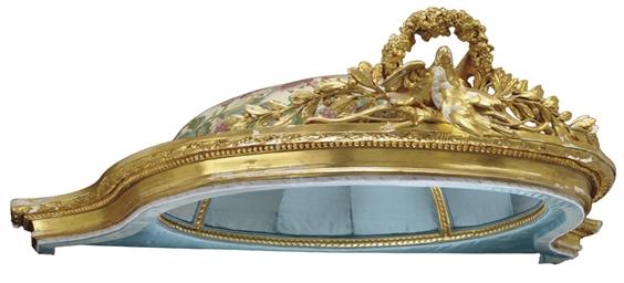 A LOUIS XVI GILTWOOD BALDEQUIN