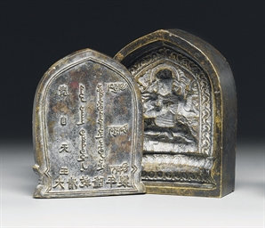 A BRONZE MOULD FOR GUANGMUTIAN