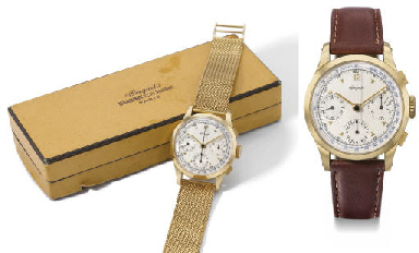 Breguet. A fine, rare and larg
