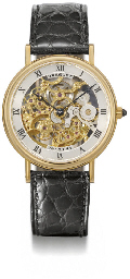 Breguet. A fine and slim 18K g