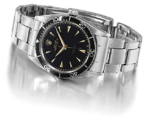 Rolex. A very rare self-windin