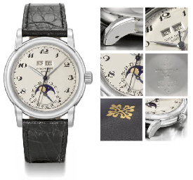 Patek Philippe. A superb and u