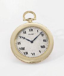 Cartier. A fine 18K gold openf