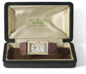 Rolex. A fine and rare 18K two