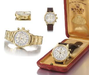 Rolex. A very fine and rare 18