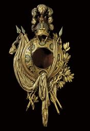 A LOUIS XVI PARCEL-SILVERED, T