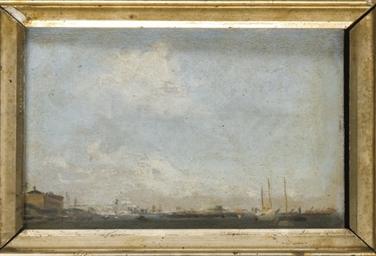 Vue d'un port