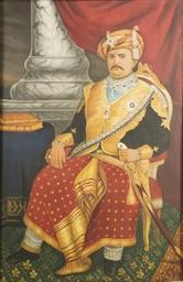 Portrait de Maharadjah