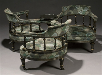 fauteuil indiscret d 39 epoque napoleon iii modern british irish art auction furniture. Black Bedroom Furniture Sets. Home Design Ideas
