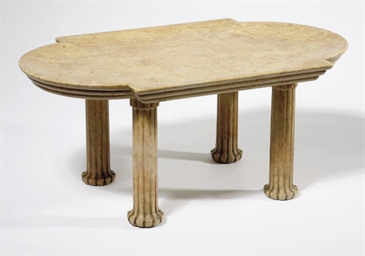 TABLE BASSE DU XXEME SIECLE
