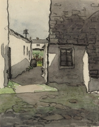 White cottages (illustrated);