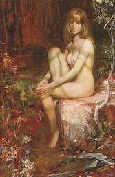 A seductive nymph
