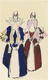 Costume design for an attendan