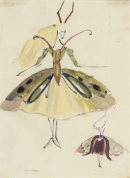 Designs for a butterfly costum