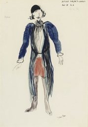 Costume design for 'The Ballad