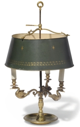 A FRENCH LACQUERED BRASS BOUIL