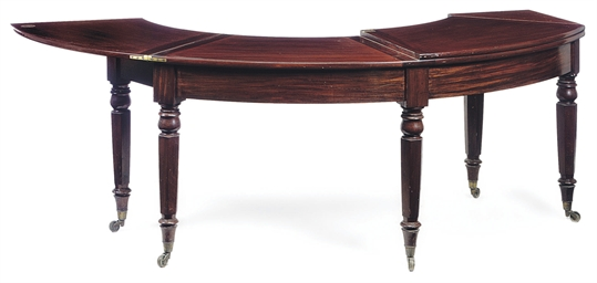 A WILLIAM IV MAHOGANY WINE TAB