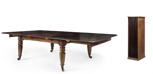 A SCOTTISH WILLIAM IV MAHOGANY