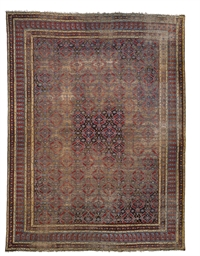 A LARGE AMRITSAR CARPET