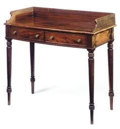 A SCOTTISH GEORGE IV MAHOGANY