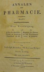 LIEBIG, Justus von (1803-73).