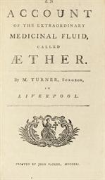 TURNER, Matthew (d. 1788?). An