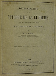 CORNU, Marie Alfred (1841-1902