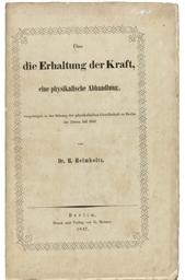 HELMHOLTZ, Hermann von (1821-1