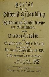 HERHOLDT, Johann David (1764-1