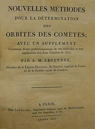 LEGENDRE, Adrien-Marie (1752-1
