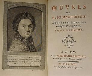 MAUPERTUIS, Pierre Louis Morea