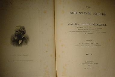 MAXWELL, James Clerk (1831-187