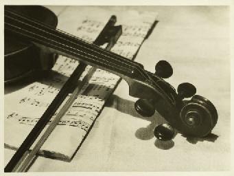 Violin study, c.1930