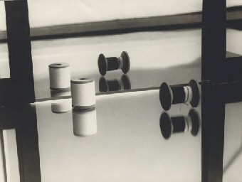 Composition (bobbins and mirro