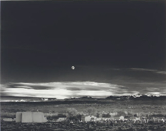 Moonrise, Hernandez, New Mexic