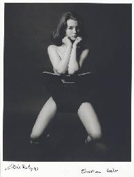 Christine Keeler, London, 1963