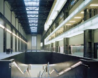 Interior, Tate Modern, London,