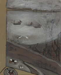 Three boats from a window