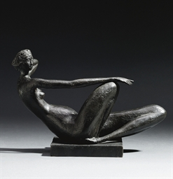 Reclining female figure