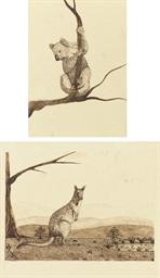 Koala Bear; Emu; Kookaburra; M