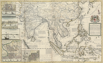 MOLL, Herman (d.1732).  A Map
