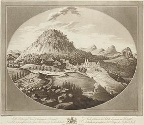View of Montserrat; South West
