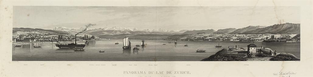 Panorama du Lac de Zurich, pri