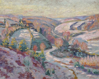La vallée au pont Charraud
