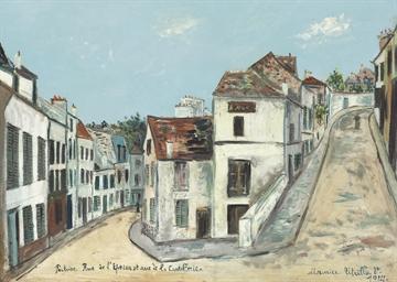Pontoise. Rue de l'Eperon et r