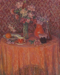 Le table, harmonie rouge